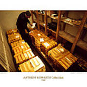 Anthony Howarth Collection - Gold- The Diligent Clerk Poster