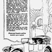 The Distinguished Car Of  1916 Poster