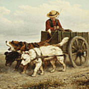 The Dog Cart Poster