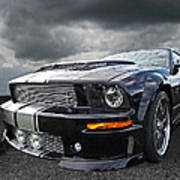 The Dominator - Cervini Mustang Poster