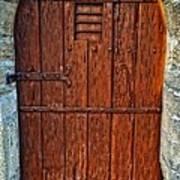 The Door - Vintage Art By Sharon Cummings Poster by Sharon Cummings