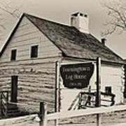 The Downingtown Log House  Poster