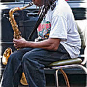 The Dreaded Sax Poster