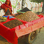 The Dried Fruit Seller Poster