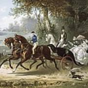 The Drive La Promenade, Illustration Poster