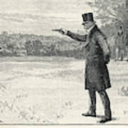 The Duke Of Wellington Fights A  Duel Poster