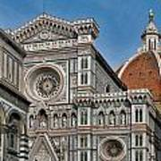 The Duomo And Baptistery Of St. John Poster