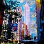 The Empire State Building Poster by Jon Neidert