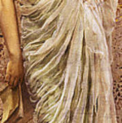 The End Of The Story Poster by Albert Joseph Moore