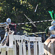 The End To The Jousting Contest  Poster