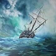 The Endurance At Sea Poster