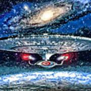 The Enterprise Poster by Joe Misrasi