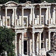 The Ephesus Library In Turkey Poster