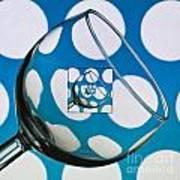 The Eternal Glass Light Blue Poster