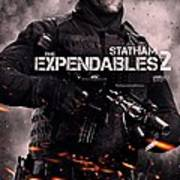 The Expendables 2 Statham Poster