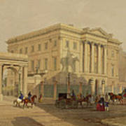 The Exterior Of Apsley House, 1853 Poster