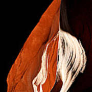 The Eye Of Lower Antelope Canyon Poster