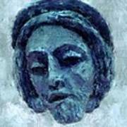 The Face Of Blue Poster