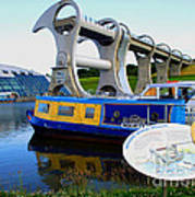 The Falkirk Wheel Poster