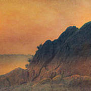 The False Lovers' Rock At Sunset Poster