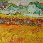 The Farmland Oil On Canvas Poster