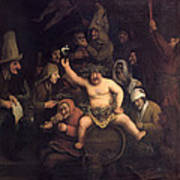 The Feast Of Bacchus, 1654 Poster