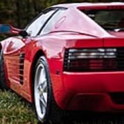 The Ferrari 512 Poster