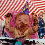 The First Birthday Cake Poster