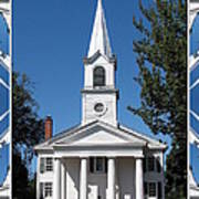 The First Church Of Evans In New York State Poster