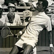 The First Dai Of The Wimbeddon Tennis Tournament Arthur Poster