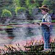 The Fishing Boy Poster
