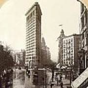 The Flatiron Building In Ny Poster