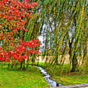 The Flow Of Autumn Poster