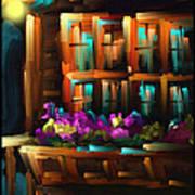 The Flower Box - Scratch Art Series - #31 Poster
