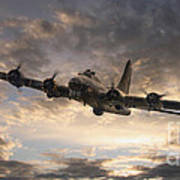 The Flying Fortress Poster