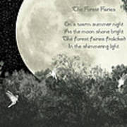 The Forest Fairies Poster