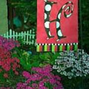 The Garden Poster by Michael Sokalski