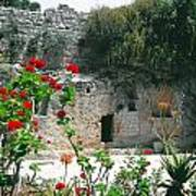 The Garden Tomb. East Jerusalem. Poster