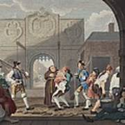 The Gate Of Calais, Or O The Roast Beef Poster