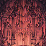 The Gates Of Barad Dur Poster by Curtiss Shaffer