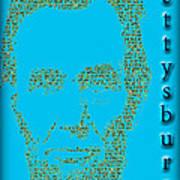 The Gettysburg Address 150th Anniversary  Poster