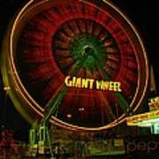 The Giant Wheel Spinning  Poster
