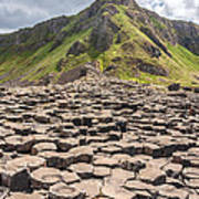 The Giant's Causeway In Northern Ireland Poster