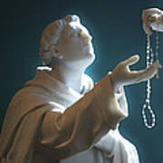 The Gift Of A Rosary Poster