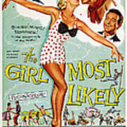 The Girl Most Likely, Us Poster Art Poster