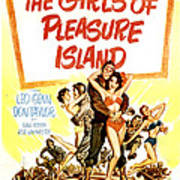 The Girls Of Pleasure Island, Us Poster