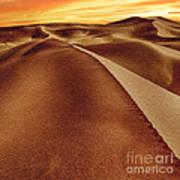 The Golden Hour Anza Borrego Desert Poster