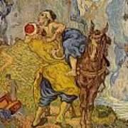 The Good Samaritan - After Delacroix Poster