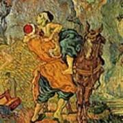 The Good Samaritan After Delacroix 1890 Poster