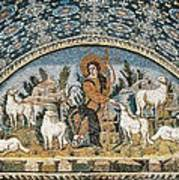 The Good Shepherd. 5th C. Italy Poster